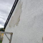 Fassade ohne Farbschutz